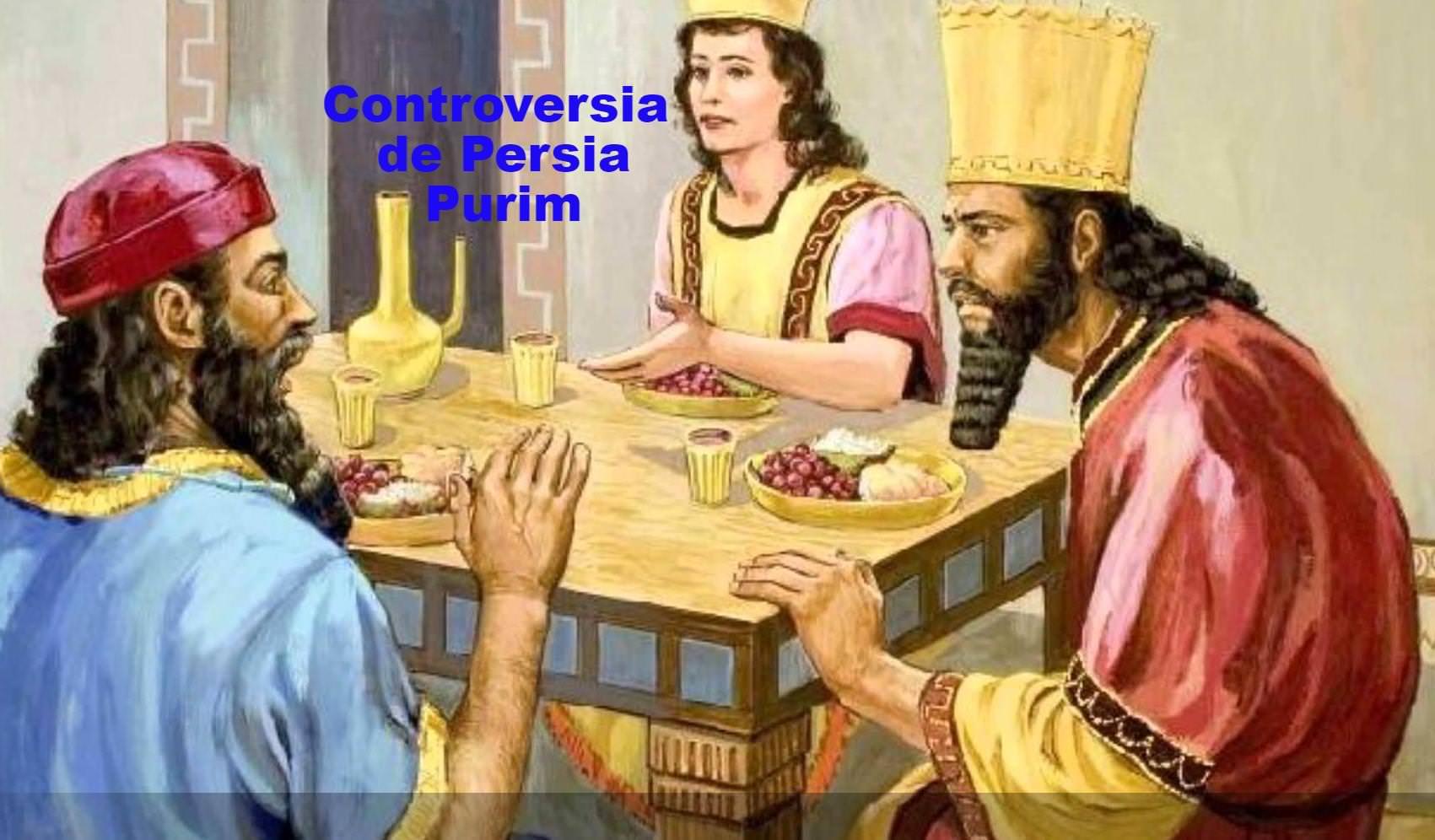 La controversia de Persia