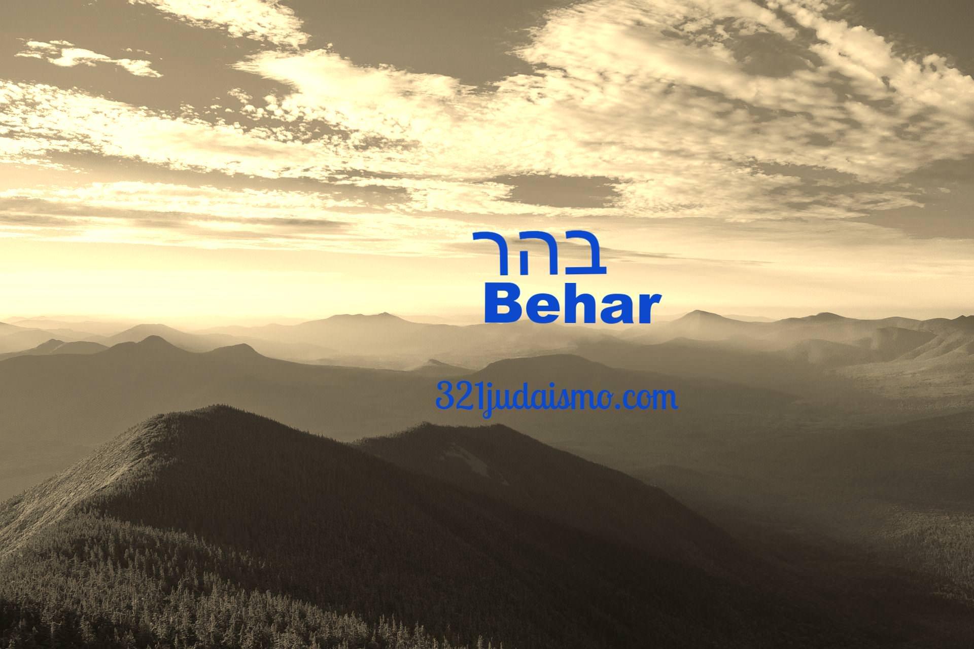 Parashá Behar