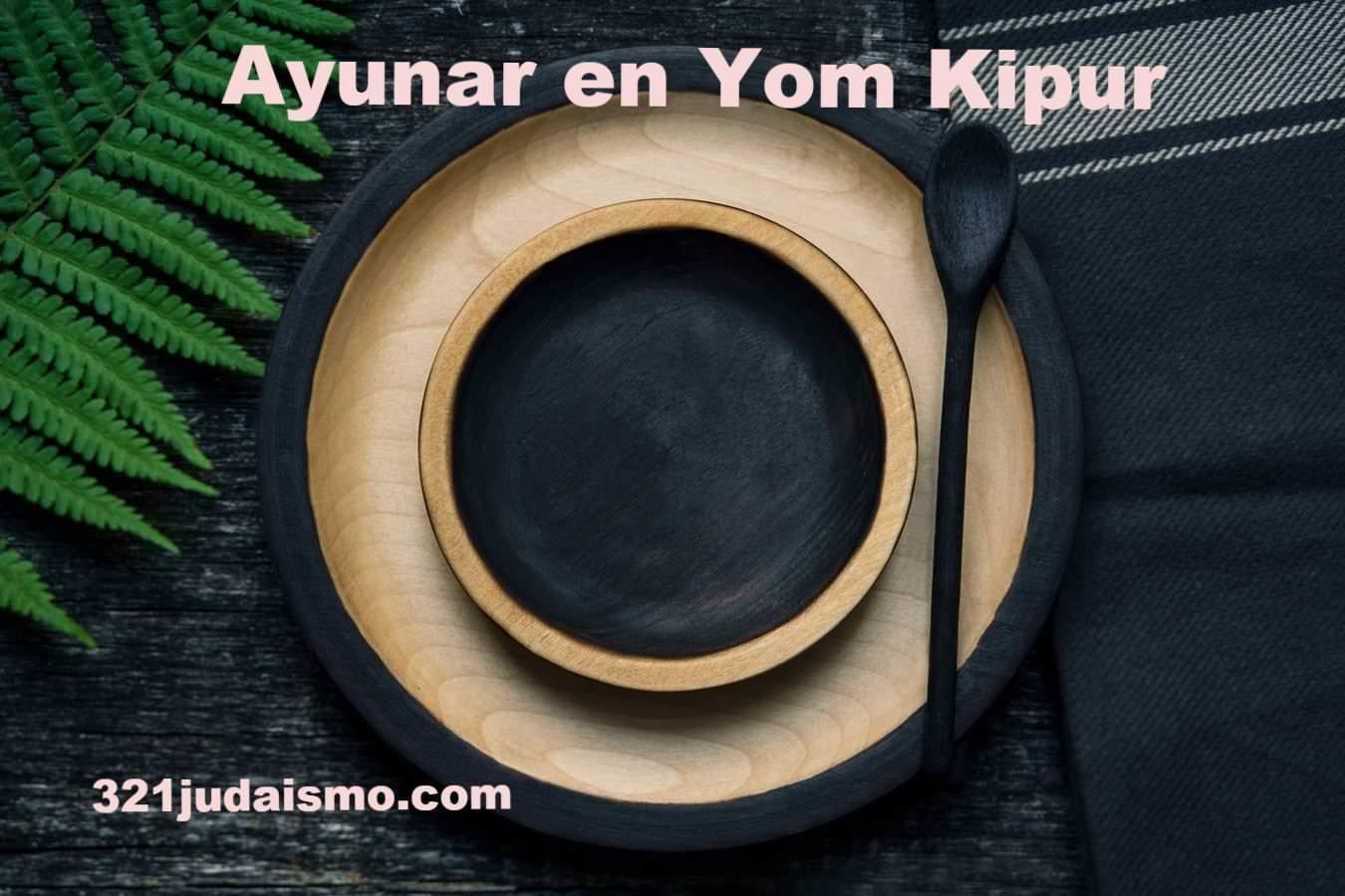Ayunar en Yom Kipur