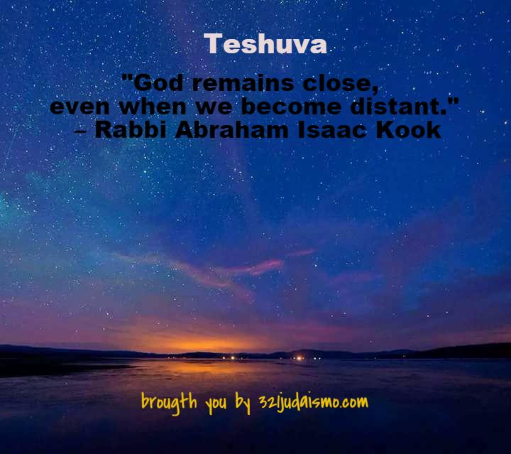 Teshuva y arrepentimiento