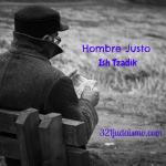 Hombre Tzadik, Hombre Justo