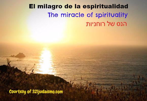 Milagro de la espiritualidad