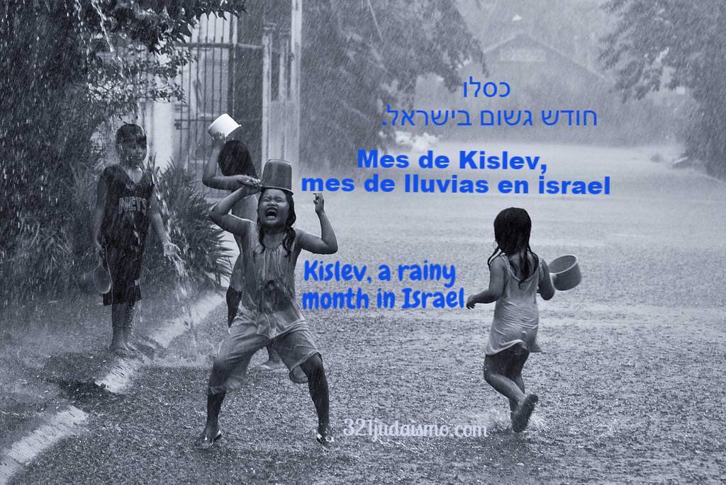 El mes de Kislev: noveno o tercer mes del año judío