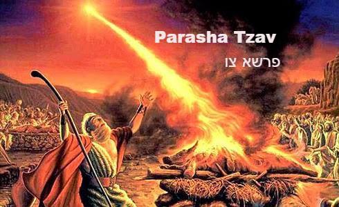 Parasha Tzav – Fuego del Cielo