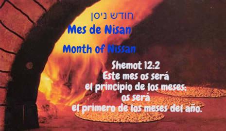 El mes de Nisan