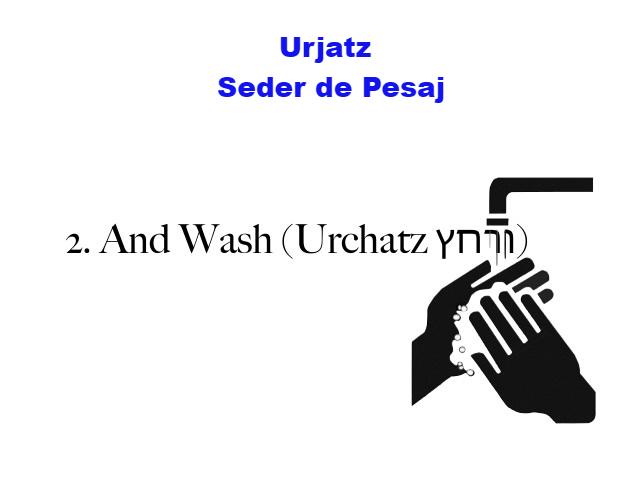 Urjatz – lavado de manos
