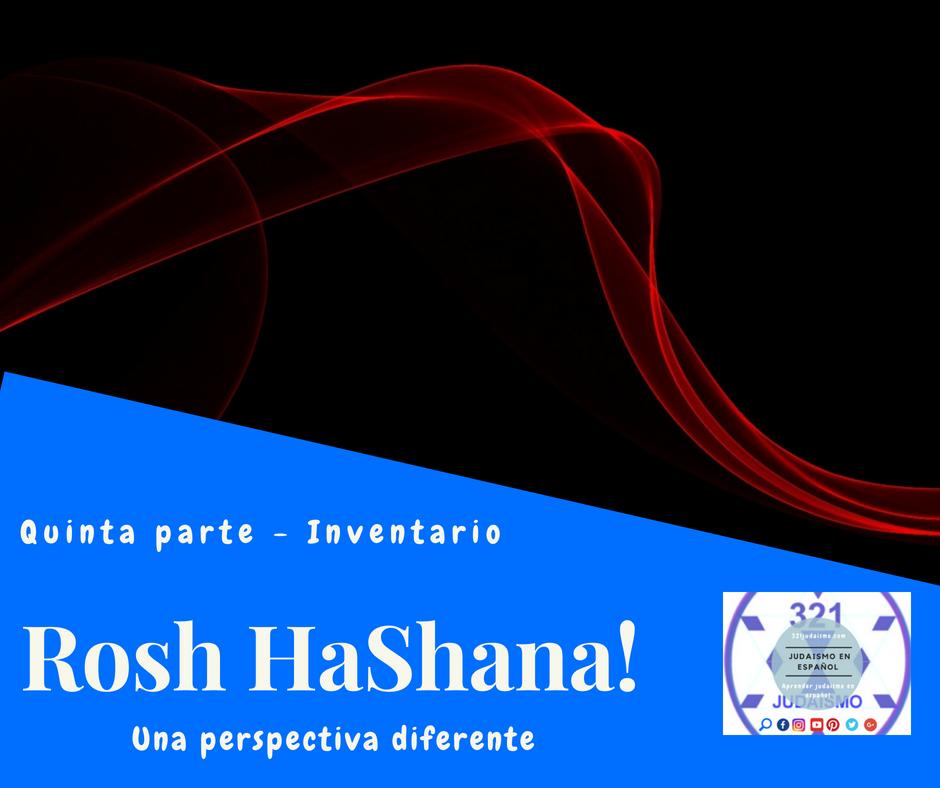 Rosh Hashana – quinta parte – Inventario
