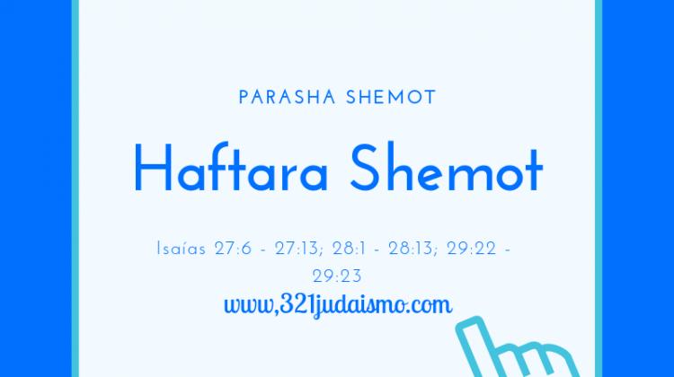 Haftara Shemot – Lectura